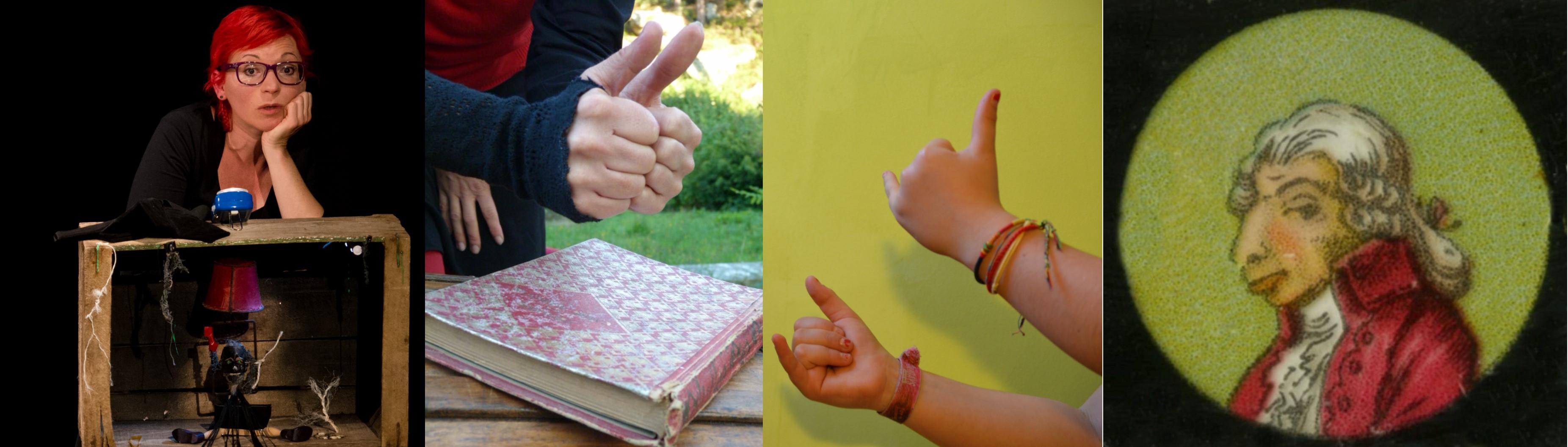 Raconter en mouvements avec la langue des signes françaises, représentations sur scène